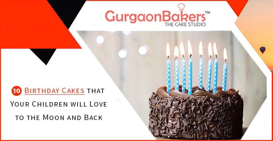 best children birthday cakes in gurgaon