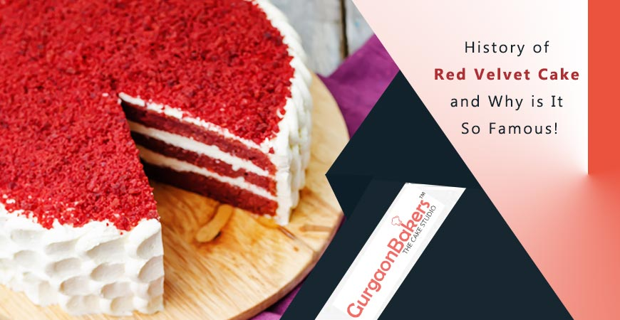 order red velvet cake online in gurgaon