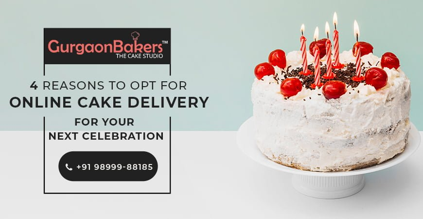 why order a cake online