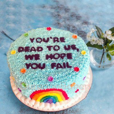 adios amigos cake