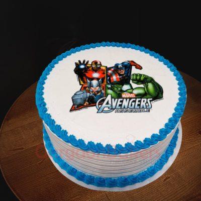 awesome avengers cake