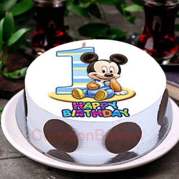 baby mickey cake
