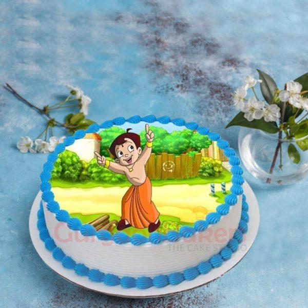 balle balle chhota bheem cake