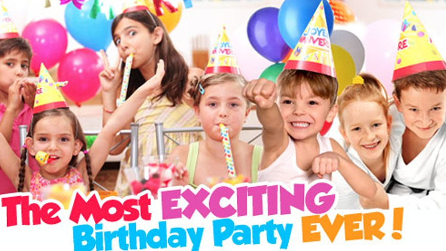 birthday party for your kids