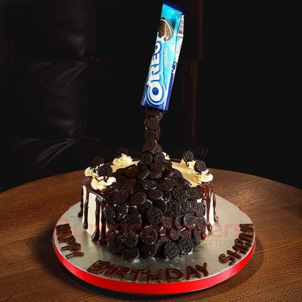bottomless oreo cake