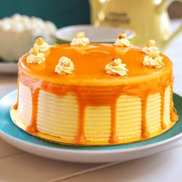 butterscotch drizzle cake