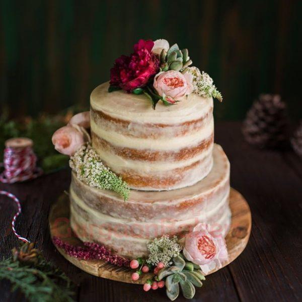 charming rustic wedding cake prices