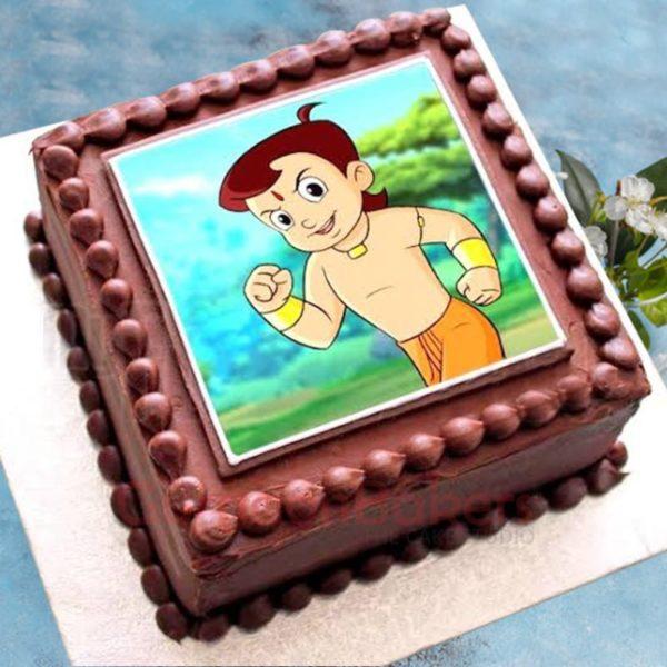 chocolatey chhota bheem cake