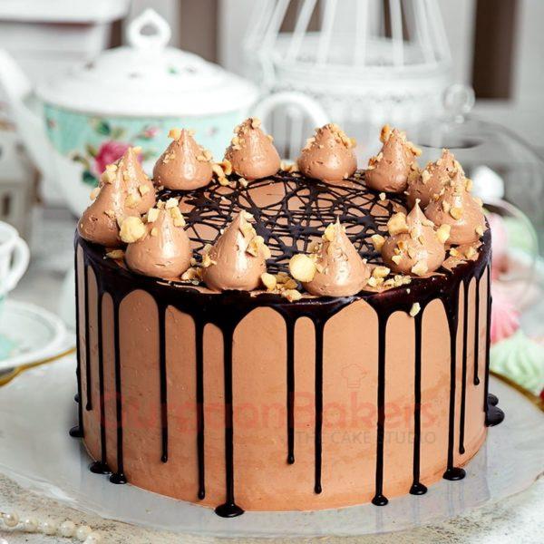 coffee nutella cake