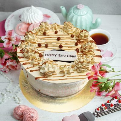 creamy butterscotch cake