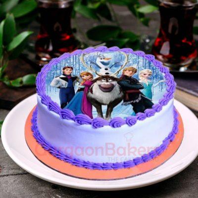 cute frozen cake