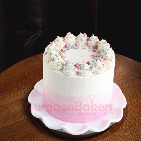 dainty vanilla cake
