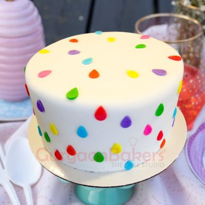 drops of color birthday cake