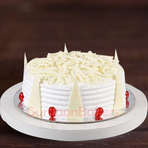 exotic white forest cake