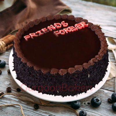 friends forever cake
