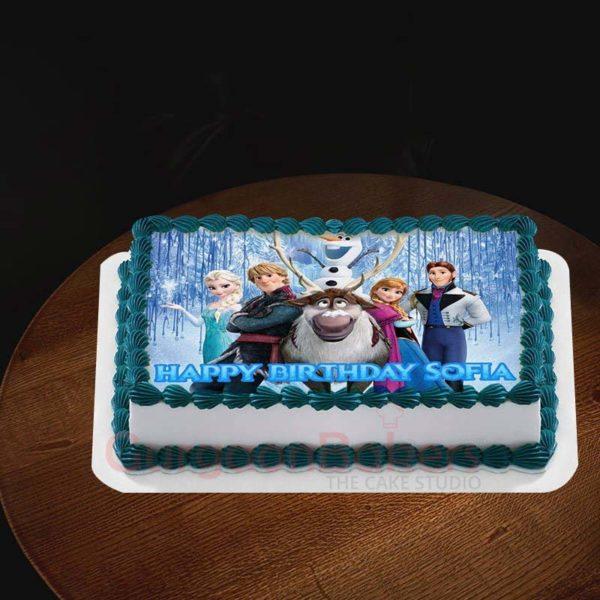 frozen gang cake