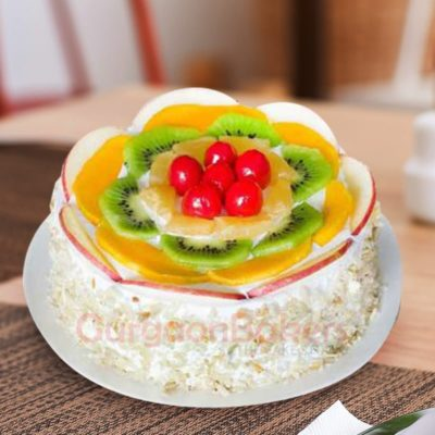 fruit bowl cake