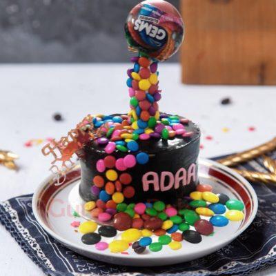 gems explosion cake