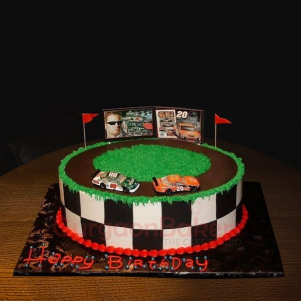 grand prix racing cake