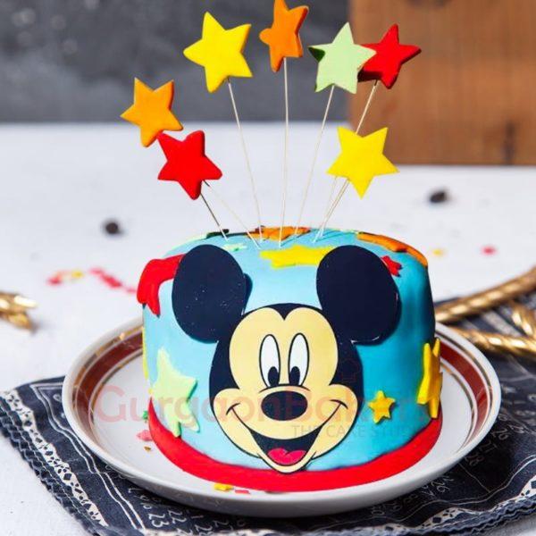happy mickey cake