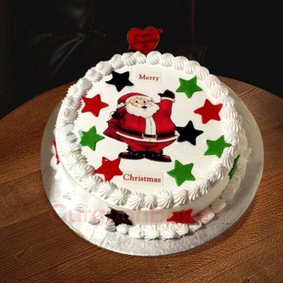 ho ho its christmas cake