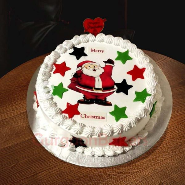 ho ho its christmas cake