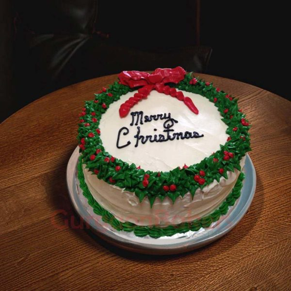 holly Christmas cakes online in Gurgaon
