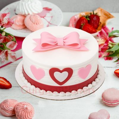 love in the air cake