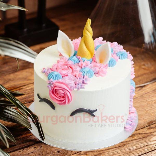 magical unicorn cake