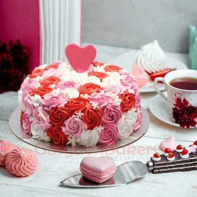 majestic anniversary cake