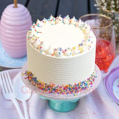 majestic vanilla cake