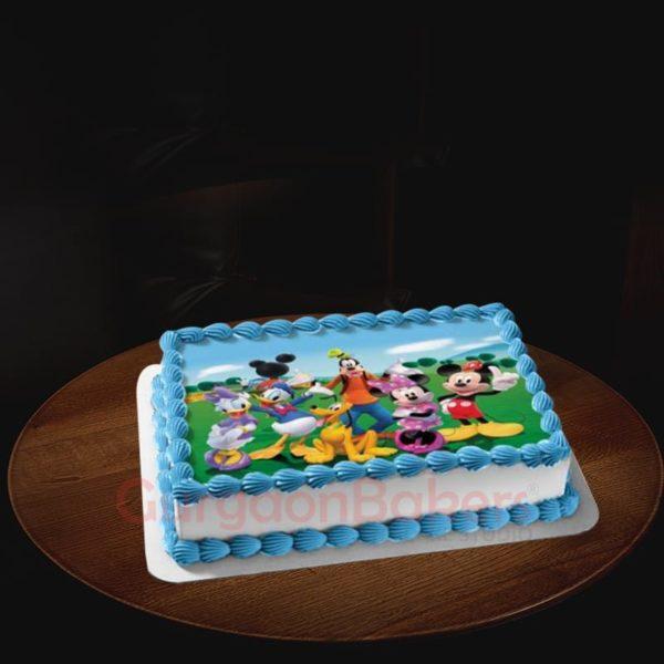 mickey and friends birthday cake