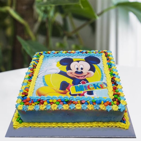 mickey gems cake
