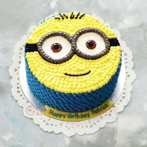 minion celebration cake