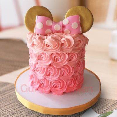 minnie birthday cake