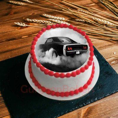 mysterious racing cake
