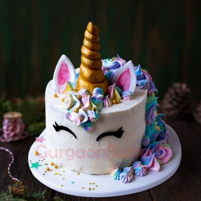 mystical mane unicorn cake