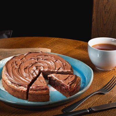 nutella tea cake