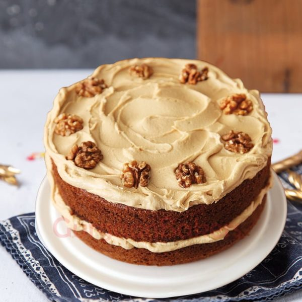 nutty coffee cake