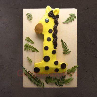 one derful first birthday cake