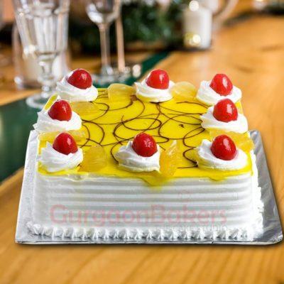 pineapple cakes - pretty pineapple swirls cake