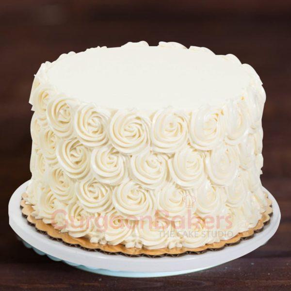 rose white swirls
