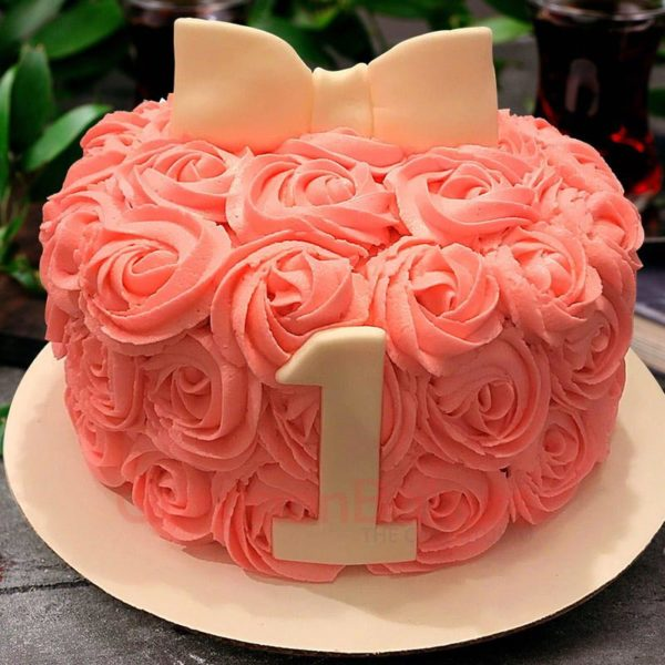 roses and bows one derful cake