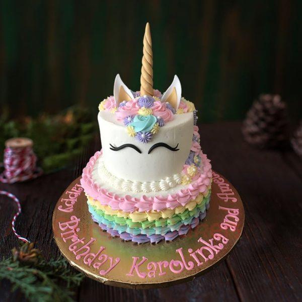 special unicorn birthday cake