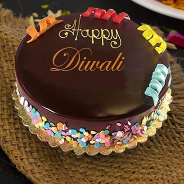 spectacular diwali cake