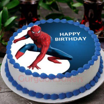 splendid spidey cake