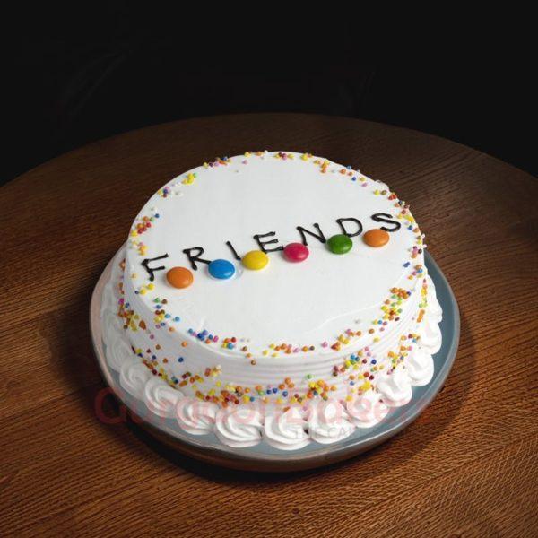 true friendship last forever cake