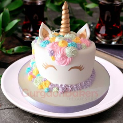 unicorn fantasy cake