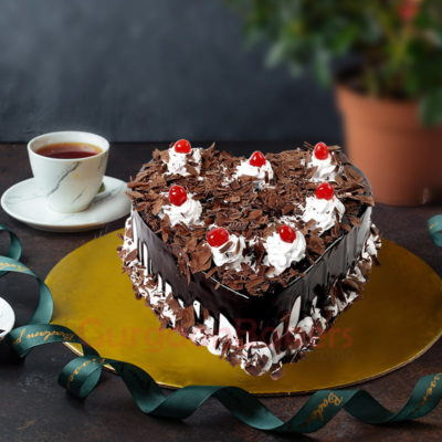 bewitching eggless black forest cake beauty
