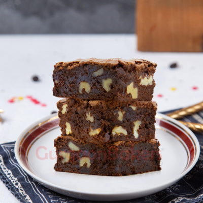 classic walnut brownies